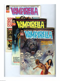 Magazines:Horror, Vampirella #17-25 Group (Warren, 1972-73) Condition: Average FN/VF. This group contains issues #17, 18, 19, 20, 21, 22, 23, ... (Total: 9 Comic Books)