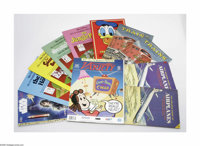 Miscellaneous Disney Publications, Group of 5 (Children's Leisure Products/Charles Letts and Co., circa 1985). An exciti...