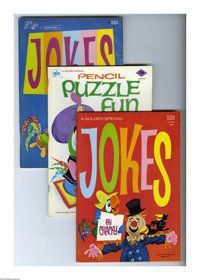 Golden Special Puzzle Fun Group (Golden Press, 1969-75) Condition: Average VF. Cracky the Parrott is the host of these f...