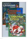 Memorabilia:Miscellaneous, Golden Special Christmas Annual Group (Golden Press, 1970-76) Condition: Average VF/NM. If you want to stock up on some neat... (Total: 16 Comic Books)