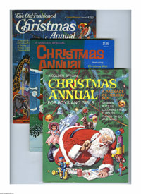 Golden Special Christmas Annual Group (Golden Press, 1970-76) Condition: Average VF/NM. If you want to stock up on some...