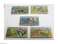 "Cartoon Character Board Games (Whitman, 1975-77). Included are ""Woody Woodpecker's Big Baja Rally Game,"" ""..."