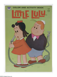 Little Lulu Color and Activity Book, Group of 8 (Whitman, 1973). Eight copies of the Little Lulu Color and Activity Book...