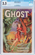 Golden Age (1938-1955):Horror, Ghost #1 (Fiction House, 1951) CGC VG- 3.5 Off-white to whitepages....