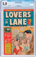 Golden Age (1938-1955):Romance, Lovers' Lane #2 (Lev Gleason, 1949) CGC VG/FN 5.0 Cream tooff-white pages....