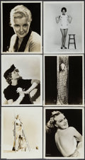 """Movie Posters:Miscellaneous, Female Star Photo Lot (Various, 1930s - 1950s). Portrait &Pinup Photos (11) (8"""" X 10""""). Miscellaneous.. ... (Total: 11 Items)"""
