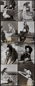 """Movie Posters:Miscellaneous, Gail Russell Lot (Paramount, 1940s). Publicity Photos (13) (7.25"""" X9.25""""). Miscellaneous.. ... (Total: 13 Items)"""