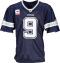 Football Collectibles:Uniforms, 2011 Tony Romo Game Worn Dallas Cowboys Jersey - Used 10/16 vs. Patriots (Photo Matched, NFL Auction LOA)....