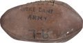 Football Collectibles:Balls, 1930 Notre Dame Game Used Football from Army Game - Rockne's Final Season and National Championship Year! ...