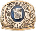 Hockey Collectibles:Others, 1939-40 Stanley Cup Championship Ring Presented to Clint Smith....