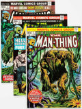 Bronze Age (1970-1979):Horror, Man-Thing Group of 15 (Marvel, 1974-75) Condition: Average VF....(Total: 15 Comic Books)
