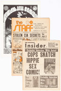 Bronze Age (1970-1979):Alternative/Underground, Underground Comix Robert Crumb Related Tabloid Format Group of 13 (Various Publishers, 1960s-70s) Condition: Average FN.... (Total: 13 Comic Books)
