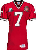 Football Collectibles:Uniforms, 1994-95 Jeff Garcia Signed Game Worn Calgary Stampeders Jersey....