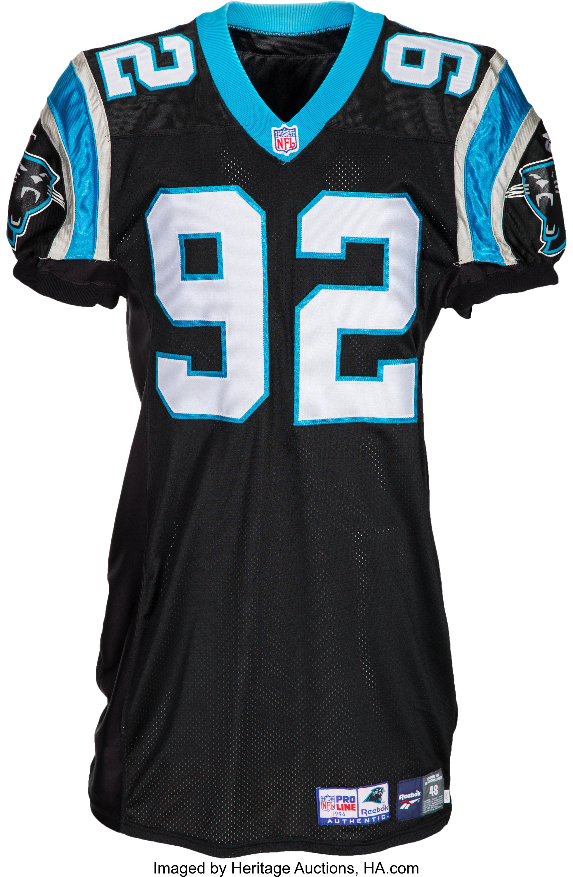 competitive price 85f21 71867 2000's Reggie White Signed Carolina Panthers Jersey ...