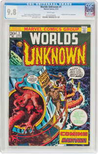 Worlds Unknown #1 (Marvel, 1973) CGC NM/MT 9.8 White pages