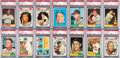 Baseball Cards:Sets, 1961 Topps Baseball Mid to High Grade Complete Set (587). ...