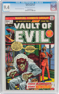 Bronze Age (1970-1979):Horror, Vault of Evil #1 (Marvel, 1973) CGC NM 9.4 Off-white to whitepages....