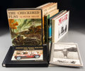 Decorative Arts, Continental:Other , Three Copies of The Checkered Flag by Peter Helck withAssociated Automobile Volumes and Publications. 13-3/8 in...(Total: 8 Items)