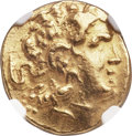 Ancients:Greek, Ancients: PONTIC KINGDOM. Time of Mithradates VI (120-63 BC). AVstater (18mm, 8.26 gm, 12h). NGC AU 5/5 - 4/5....
