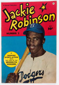 Golden Age (1938-1955):Non-Fiction, Jackie Robinson #2 (Fawcett Publications, 1950) Condition: VG....