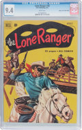 Golden Age (1938-1955):Western, Lone Ranger #38 Mile High Pedigree (Dell, 1951) CGC NM 9.4 Whitepages....