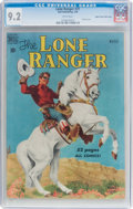 Golden Age (1938-1955):Western, Lone Ranger #21 Mile High Pedigree (Dell, 1950) CGC NM- 9.2 Whitepages....