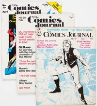 The Comics Journal #37-69 Near Complete Range Group of 32 (Fantagraphics Books, 1977-81) Condition: Average VG/FN.... (T...