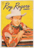 Golden Age (1938-1955):Western, Roy Rogers Comics #1 (Dell, 1948) Condition: VG-....