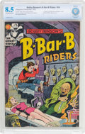 Golden Age (1938-1955):Horror, Bobby Benson's B-Bar-B Riders #14 (Magazine Enterprises, 1952) CBCSVF+ 8.5 Off-white to white pages....