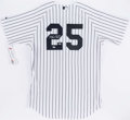 Autographs:Jerseys, Mark Texieria Signed New York Yankees Jersey....