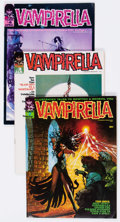 Magazines:Horror, Vampirella Group of 14 (Warren, 1969-71) Condition: Average FN+.... (Total: 14 Comic Books)