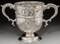 Silver Holloware, British:Holloware, A Large George Lambert & Co. Victorian Sterling Silver Two...