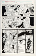 Jim Valentino and Steve Montano Guardians of the Galaxy #9 Page 7 Original Art ( Comic Art