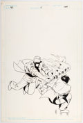 Original Comic Art:Covers, Keith Giffen Video Jack #5 Cover Original Art (Marvel/Epic,1988)....