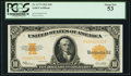 Large Size:Gold Certificates, Fr. 1173 $10 1922 Gold Certificate PCGS About New 53.. ...