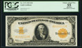 Large Size:Gold Certificates, Fr. 1173 $10 1922 Gold Certificate PCGS Apparent Choice About New 55.. ...