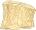 Estate Jewelry:Rings, Gold Ring, Pomellato  The 18k gold ring weighs...