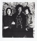 Music Memorabilia:Photos, Jimi Hendrix Experience Limited Edition Black and White Ph...