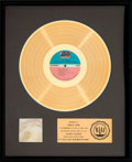 Music Memorabilia:Awards, David Crosby If I Could Only Remember My Name RIAA GoldRecord Sales Award (Atlantic SD 7203...