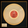 Music Memorabilia:Awards, Doors Morrison Hotel In-House Gold Record Sales Award(Elektra EKS-75007, 1970)....