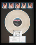 Music Memorabilia:Awards, Whitney Houston Whitney RIAA Hologram (5x) Platinum Album SalesAward (Arista AL-8405, 1987)....