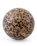 Lapidary Art:Eggs and Spheres, Speckled Jasper Sphere. Locality Unknown. 3.25 inches (8.25 cm)in diameter. ...