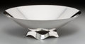 Silver Holloware, American:Bowls, A Tiffany & Co. Modernist Silver Center Bowl, New York, circa1947-1956. Marks: TIFFANY & CO, MAKERS, STERLING SILVER,234...