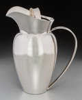Silver Holloware, American:Pitchers, An Allan Adler Silver Covered Pitcher, Los Angeles, California,circa 1950-1960. Marks: ALLAN ADLER, STERLING. 9-1/8 inc...