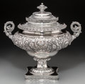 Silver & Vertu:Hollowware, An Unusual Gorham Special Order Silver Combination Covered Urn and Bottle Cooler, Providence, Rhode Island, circa 1894. Mark...