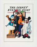 Animation Art:Poster, The Barbershop Quartet - Mickey Mouse and Friends LimitedEdition Litho Print #156/1000 (Walt Disney, 1993)....