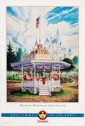 Animation Art:Poster, Disneyana Convention Fine Art Poster Group of 4 (Walt Disney,1992-95).... (Total: 4 Items)