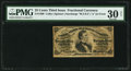 Fractional Currency:Third Issue, Fr. 1300 25¢ Third Issue PMG Very Fine 30 Net.. ...