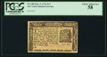 Colonial Notes:New York, New York March 5, 1776 $1/3 PCGS Choice About New 58.. ...