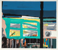 Fine Art - Work on Paper:Print, John Hultberg (1922-2005). Witness, 1977. Silkscreen incolors. 24 x 28 inches (61.0 x 71.1 cm) (image). 26 x 30 inches ...